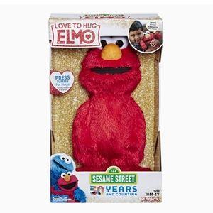 """🤗 NIB‼️ """"Love To Hug Elmo"""" Hugging Plush Doll"""